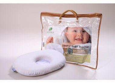 """Подушка из 100% натурального латекса для новорожденных """"Dimple Baby"""""""